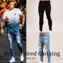 Bee Inspired Clothing Street Style Plain Skinny Fit Jeans & Denim