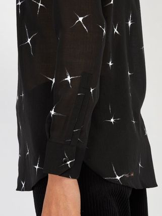 Saint Laurent Shirts Star Wool Long Sleeves Shirts 2