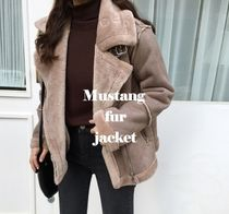 Faux Fur MA-1 Oversized Bomber Jackets