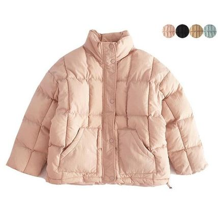 Short Unisex Street Style Down Jackets