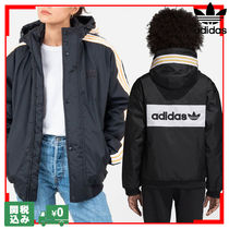 adidas Casual Style Unisex Street Style Oversized Outerwear