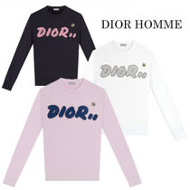 DIOR HOMME Long Sleeves Cotton Shirts