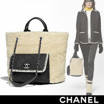 CHANEL Nylon Bi-color Bags