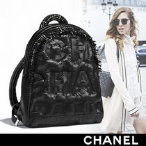 CHANEL Nylon Backpacks