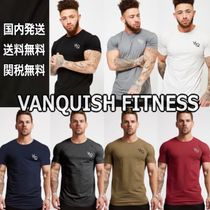 VANQUISH FITNESS Long Sleeves Cotton Short Sleeves Tops