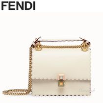 FENDI KAN I Leather Handbags