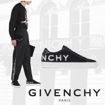 GIVENCHY Street Style Leather Sneakers
