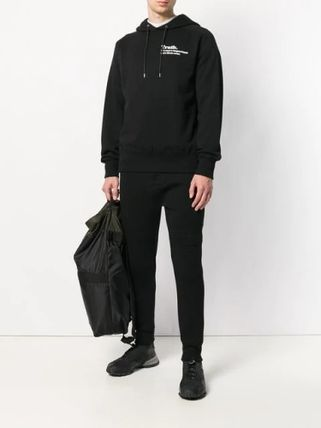 sacai Hoodies Long Sleeves Plain Cotton Hoodies 3