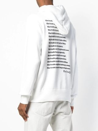 sacai Hoodies Long Sleeves Plain Cotton Hoodies 10