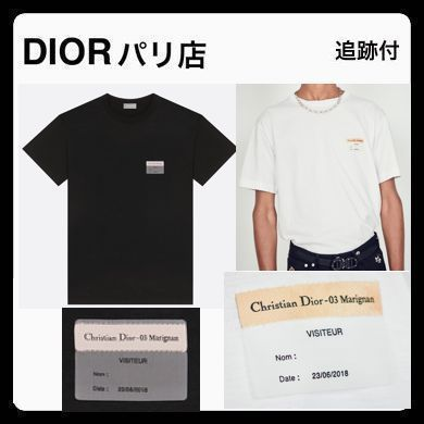 f90ce20c3c68 ... DIOR HOMME More T-Shirts Unisex Plain Cotton Short Sleeves Handmade T- Shirts ...