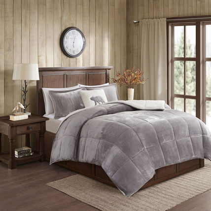 WOOLRICH Plain Pillowcases Co-ord Comforter Duvet Covers