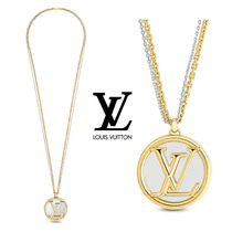 Louis Vuitton Unisex Chain Metal Necklaces & Chokers