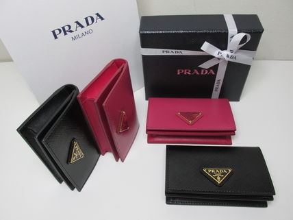 PRADA Coin Purses Saffiano Coin Purses 2