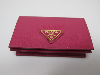 PRADA Coin Purses Saffiano Coin Purses 12