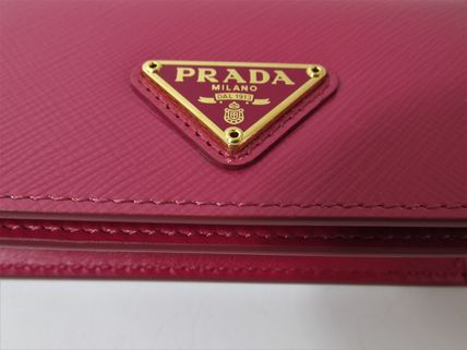 PRADA Coin Purses Saffiano Coin Purses 17