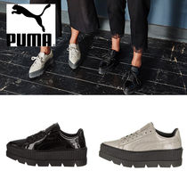 PUMA FENTY Platform Casual Style Street Style Collaboration Plain