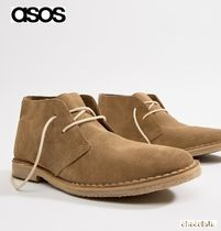 ASOS Suede Street Style Plain Boots