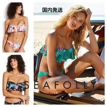 Seafolly Flower Patterns Tropical Patterns Bikinis
