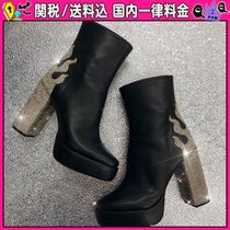 DOLLS KILL Casual Style Faux Fur Ankle & Booties Boots