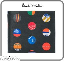 Paul Smith Dots Leather Folding Wallets