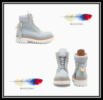 BUSCEMI Rubber Sole Casual Style Plain Ankle & Booties Boots