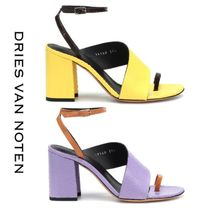 Dries Van Noten Round Toe Blended Fabrics Other Animal Patterns Leather