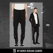 11 BY BBS Street Style Plain Cotton Oversized Sarouel Pants