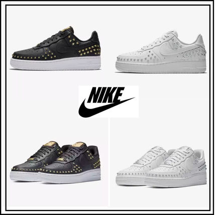 Nike AIR FORCE 1 2019 SS Star Unisex Studded Sneakers ( AR0639-001 ... bf60b7bd88e2