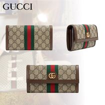 5d37535a402bba GUCCI Ophidia 2018-19AW Monogram Canvas Long Wallets (546592 96IWS ...