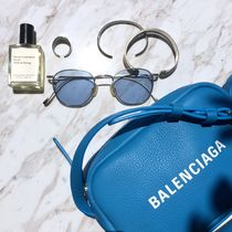 BALENCIAGA EVERYDAY TOTE Casual Style Plain Leather Shoulder Bags