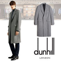 Dunhill Other Check Patterns Wool Long Chester Coats
