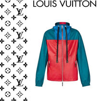 Louis Vuitton Monogram Long Sleeves Leather Oversized