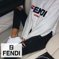 FENDI Short Collaboration Long Sleeves Cotton Cropped