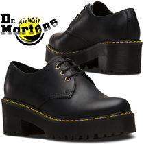 Dr Martens Platform Plain Leather Loafer Pumps & Mules