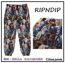 RIPNDIP Printed Pants Unisex Street Style Other Animal Patterns