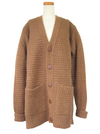 Wool Plain Medium Cardigans