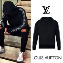Louis Vuitton Pullovers Street Style Long Sleeves Plain Cotton Hoodies