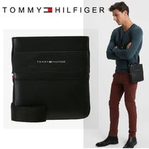Tommy Hilfiger Unisex Faux Fur Plain Messenger & Shoulder Bags