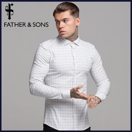 Father & Sons Shirts Long Sleeves Cotton Shirts