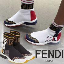 FENDI Casual Style Collaboration Low-Top Sneakers
