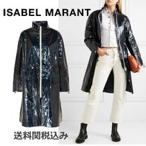 Isabel Marant Plain Medium Elegant Style Coats