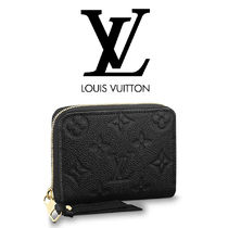 Louis Vuitton MONOGRAM Monogram Unisex Leather Coin Purses