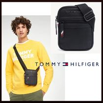Tommy Hilfiger Faux Fur Plain Messenger & Shoulder Bags