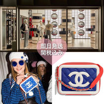 CHANEL Vanity Bags Party Style Shoulder Bags