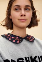 CLAUDIE PIERLOT Flower Patterns Detachable Collars