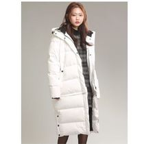 SPAO Casual Style Unisex Fur Street Style Plain Long Oversized