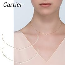 Cartier 18K Gold Elegant Style Necklaces & Pendants