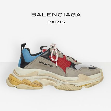 c80ac39c8142 BALENCIAGA Triple S 2019 SS Low-Top Sneakers (554105W09O24365) by ...