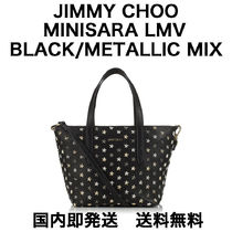 Jimmy Choo Star Studded 2WAY Leather Shoulder Bags