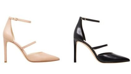 Plain Pin Heels Pointed Toe Pumps & Mules